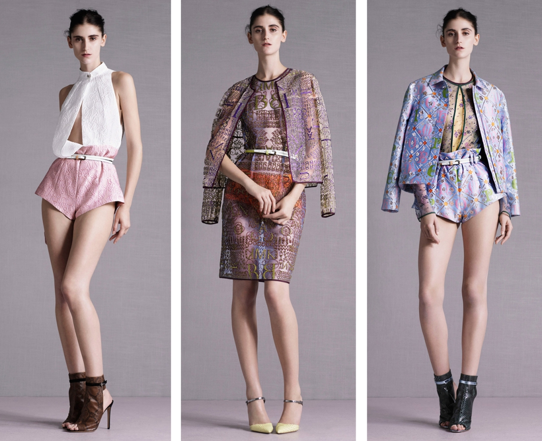 CAROLINA NAZATTO MARY KATRANTZOU RESORT 2015