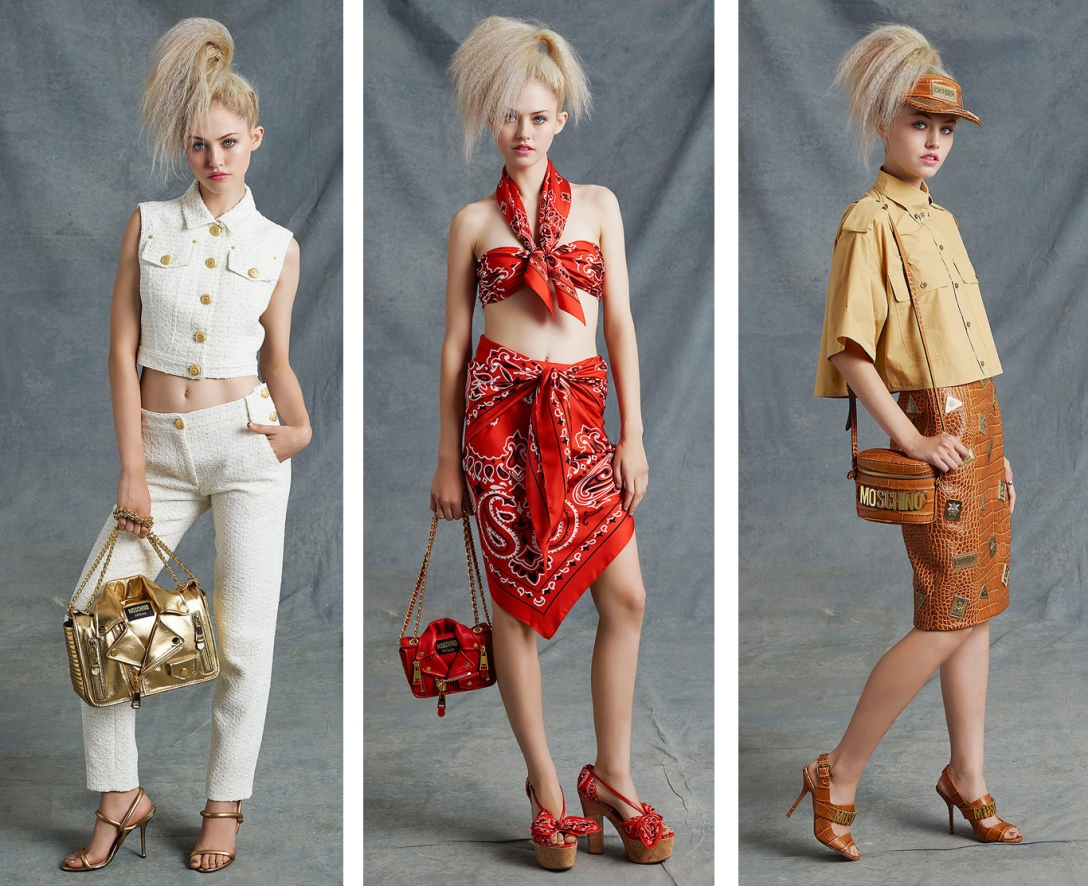 CAROLINA NAZATTO MOSCHINO RESORT 2015